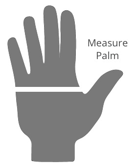 Revit Glove Size Chart Silhouette